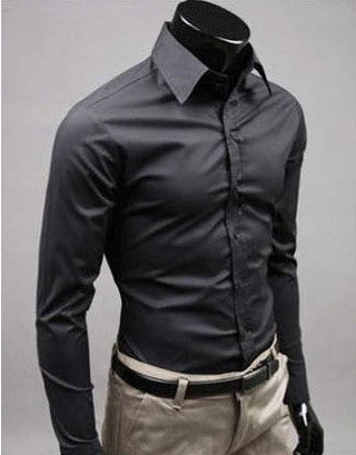 Willstyle Stylish Long Sleeve Shirt Black