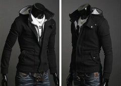 Willstyle Men's Special Hoodie Jacket Coat Men Clothes Cardigan Style Jacket