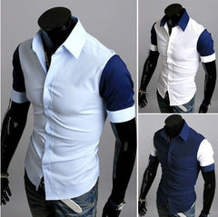 Sport Fashion  Short Sleeve Dress Shirt
