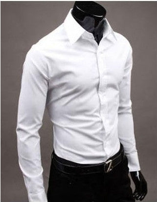 Willstyle Stylish Long Sleeve Shirt White