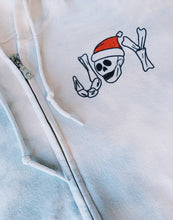 Load image into Gallery viewer, Deathly Joy Zip Up Hoodie