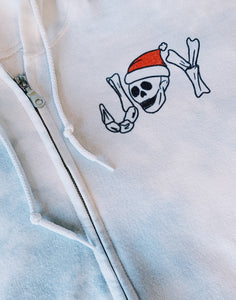 Deathly Joy Zip Up Hoodie
