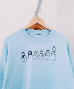 Snow People Crewneck