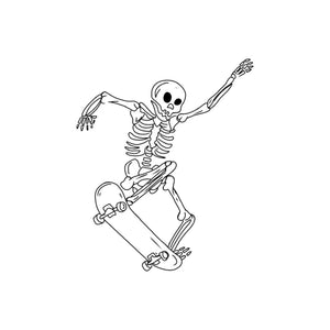 Skeleton Sticker Pack