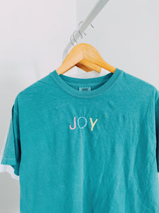 Joy Embroidered Tee