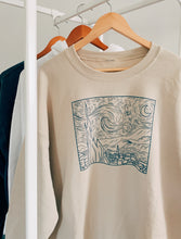 Load image into Gallery viewer, Starry Night Crewneck