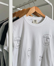 Load image into Gallery viewer, Faces Tee
