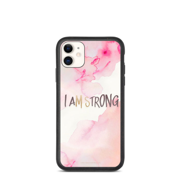 I AM STRONG Phone Case