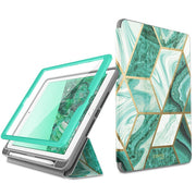 Green Marble Ipad Case