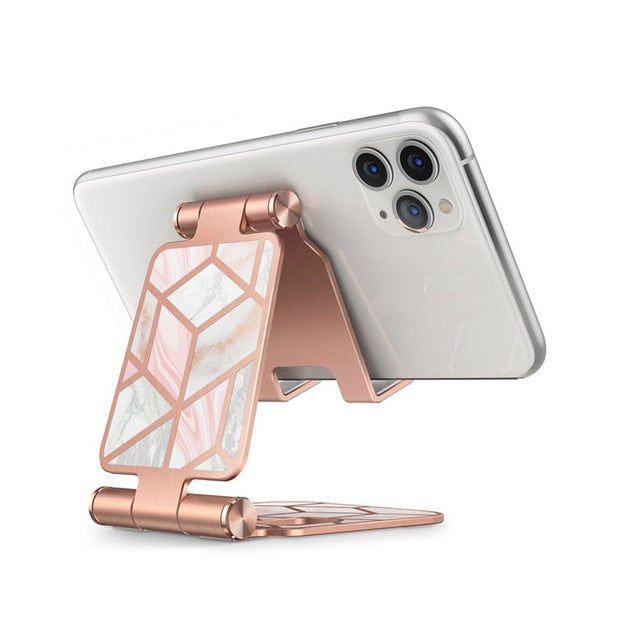 Pink Marble Adjustable Cell Phone Stand