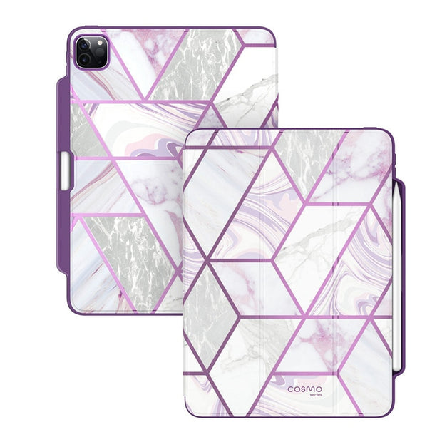 Purple Marble Ipad Case