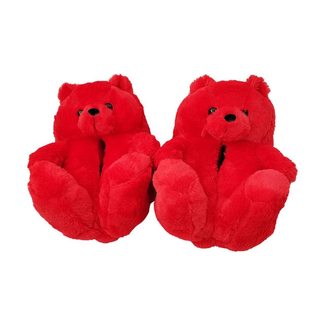 Cute Trendy Bear Slippers