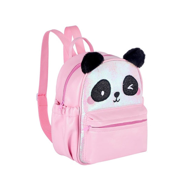 Sequins Panda Backpack
