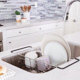 Over-The-Sink Dish Drainer