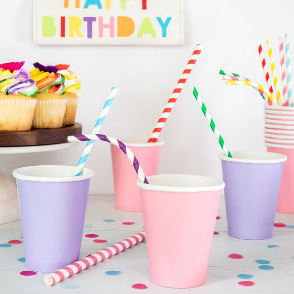 Bendable Paper Straws (Set of 25)