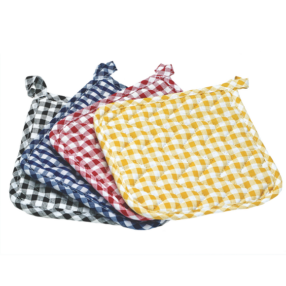 Gingham Pot Holder