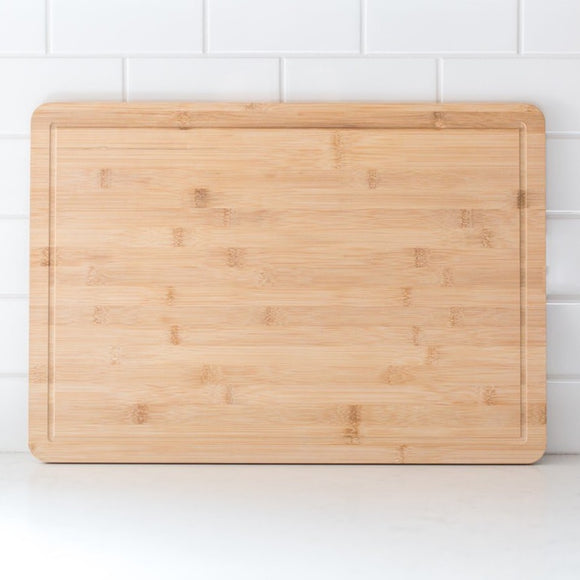 Bamboo Cutting Board with Well