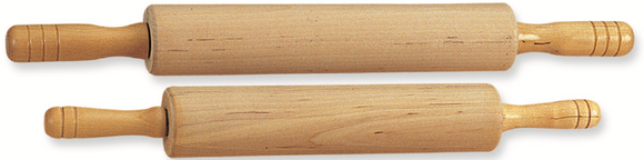 Rolling Pin with Nylon Bearings (Wood)