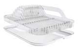 Crystal-Clear Dish Rack Set