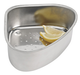 Corner Steel Sink Strainer