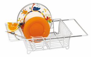 Adjustable Over-The-Sink Dish Drainer