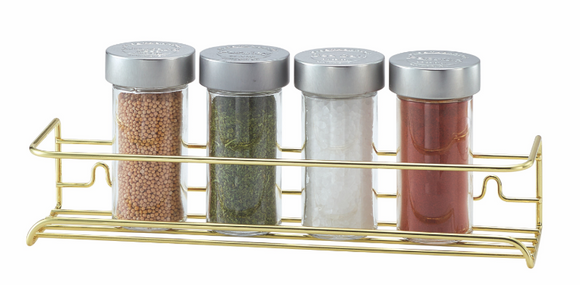 Brass Spice Shelf