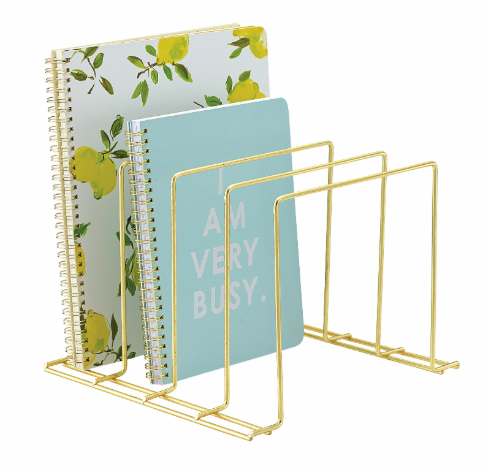 Multi-Purpose Large Brass Organizer