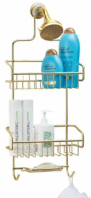 Gold Extra-Large Shower Caddy
