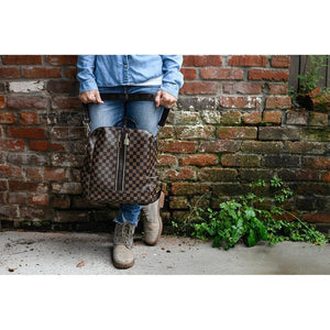 Checkered Samantha Bag