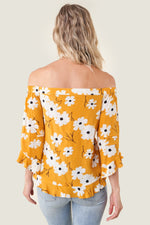 Load image into Gallery viewer, Sugarlips Good Grace Daisy Off The Shoulder Top