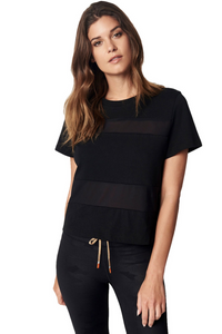 ENSMBL All Hours Paneled Crop Tee
