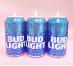 Load image into Gallery viewer, Bud Light Beer Can Candle