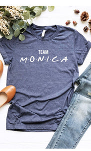Team Monica Graphic Tee