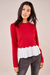 Sugarlips Gotta Have It Cherry Sweater Top