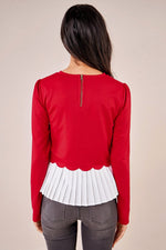Load image into Gallery viewer, Sugarlips Gotta Have It Cherry Sweater Top