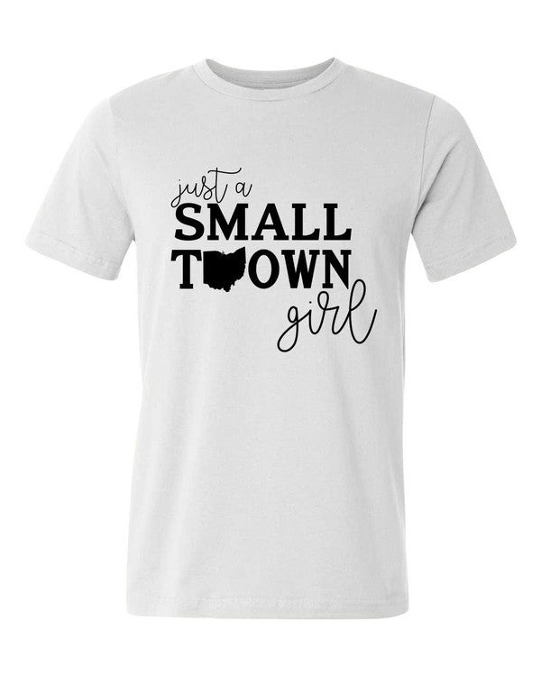 Small Town Girl Graphic T Shirt