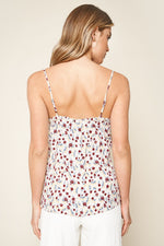 Load image into Gallery viewer, Brookside Floral Print Ruffle Cami