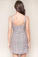 Load image into Gallery viewer, Sugarlips Rhapsody Tweed Mini Dress