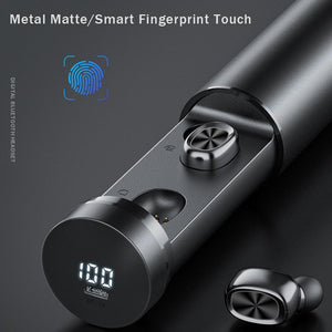 X9 TWS  Auto Pairing Smart Touch Control Earbuds with Charging Bar