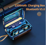 Load image into Gallery viewer, Bluetooth 5.0 Wireless Earbuds F9 Touch IPX8 Waterproof Charging Box HiFi