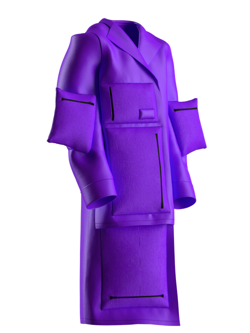 Infinity.coat by Caste.less