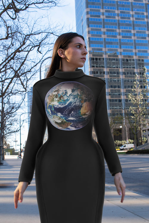 Space Dress -  Blue Marble 2007