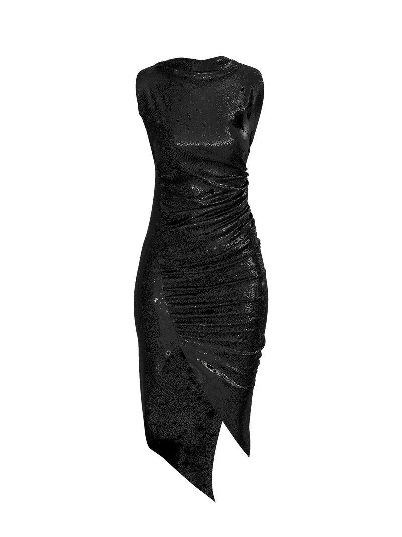 Nebula Black Dress by Arnaud Pepin-Donat