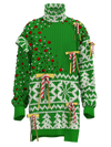 Lollipop sweater with crystals