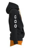 HOODIE-LAYERED_DIEGO_BLACK-ORANGE