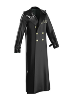 BLACK DECO TRENCH