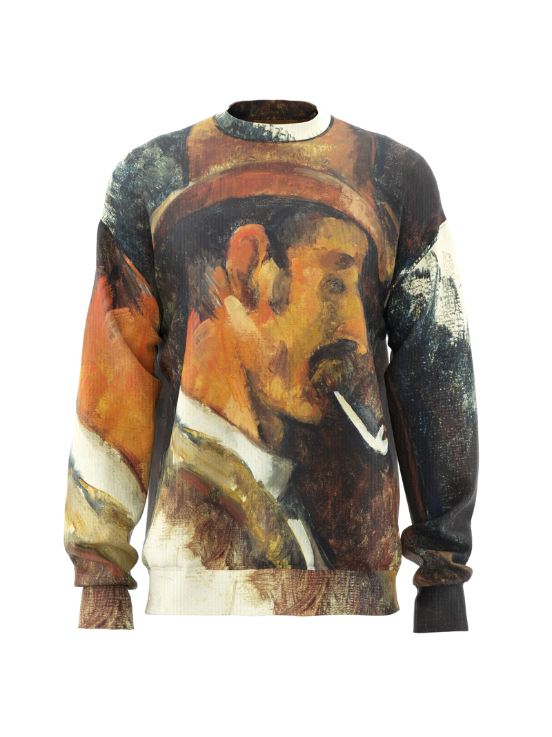 Sweatshirt - Man with Pipe