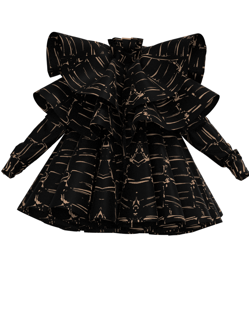 Printed Jacket_JABOT.LAYERS