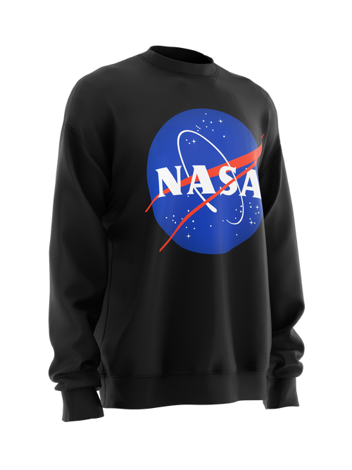 Sweatshirt NASA Insignia logo black