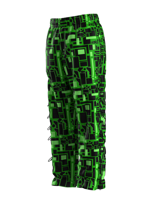 Green Matrix Joggers